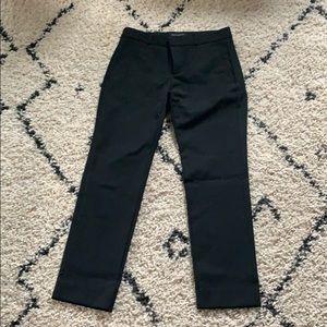 Banana Republic Ryan pants, black, size 4P